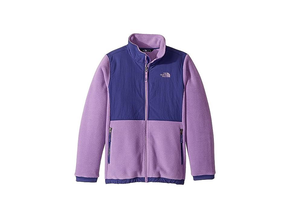 The North Face Kids Denali Jacket (Little Kids/Big Kids) (Bellflower Purple (Prior Season)) Girl