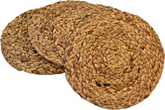 Benson Mills Water Hyacinth Braided Placemat (Natural, 15
