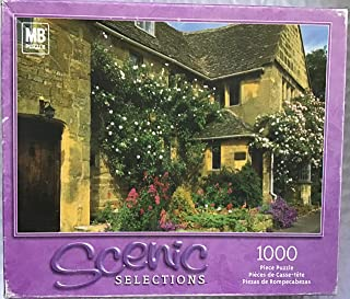 Scenic Selections Cottage Cotswold England 1000 Piece Jigsaw Puzzle by Milton Bradley