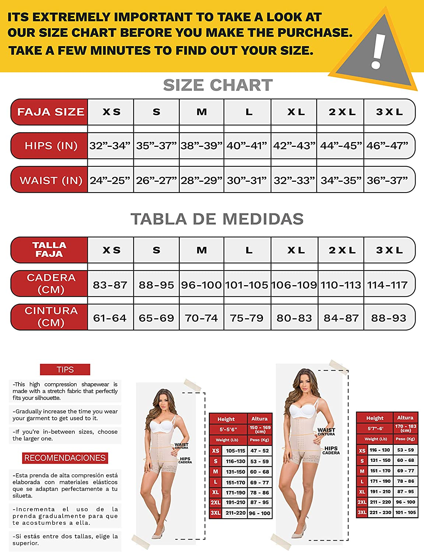 MARIAE 9182 Fajas Colombianas Levanta Pompi BBL Post Surgery Compression Garment