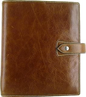 Filofax A5 Malden Organizer, Leather, Ochre, 8.25 x 5.75 (C025847-2019)