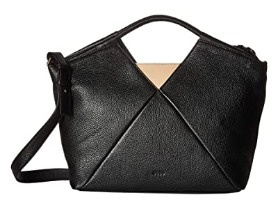 ECCO Linnea Work Bag (Black) Handbags