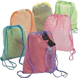 Fun Express Neon Net Backpacks (1 Dozen)