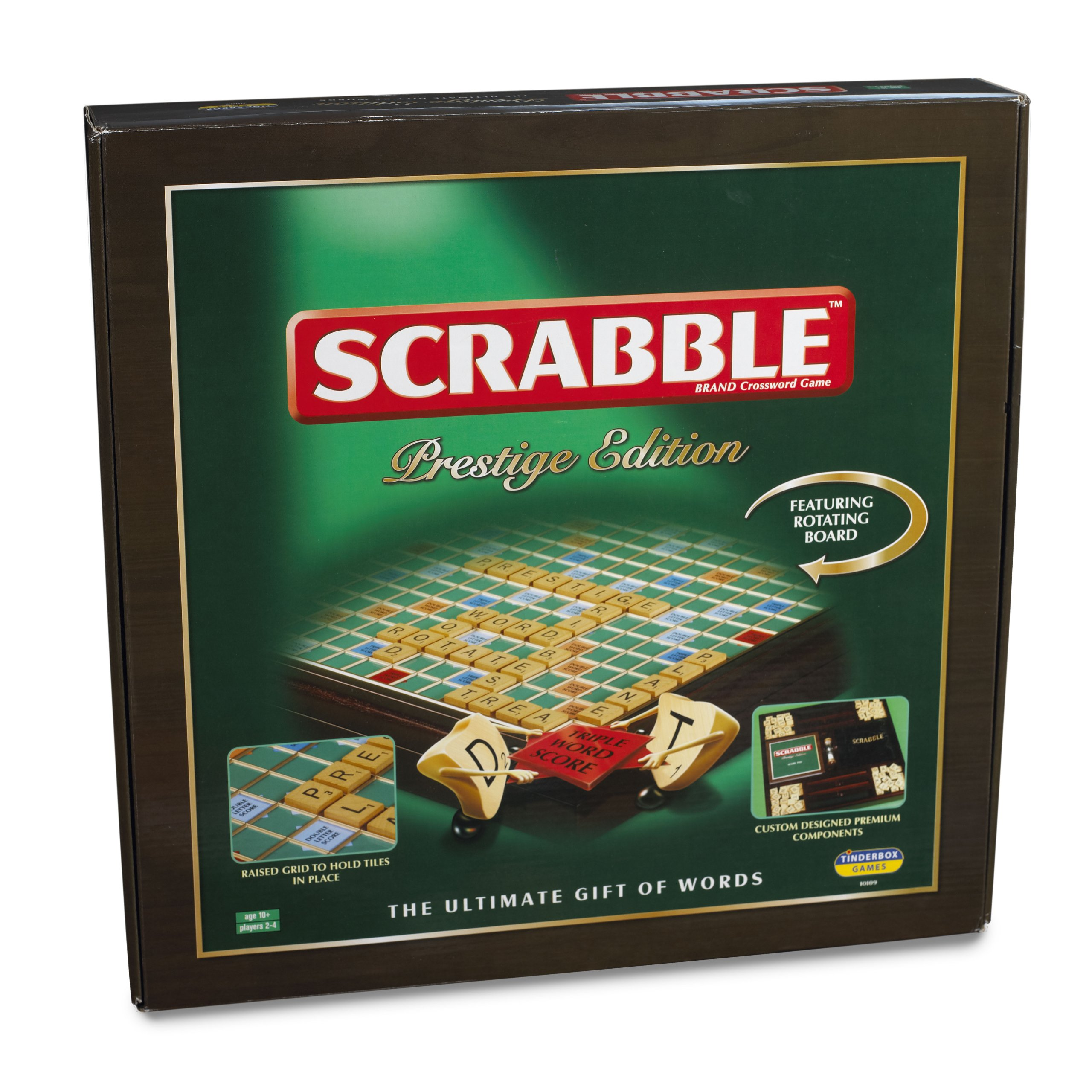 Scrabble Prestige Edition - Juego de tablero, 2 a 4 jugadores ...