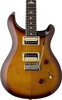 PRS Paul Reed Smith SE Custom 24 Electric Guitar with Gig Bag, Tobacco Sunburst