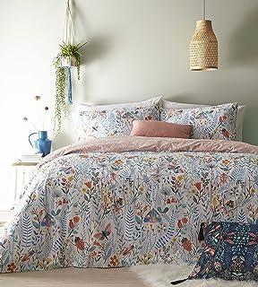 Furn Mini Nature Duvet Cover Set, Cotton, Multi, King