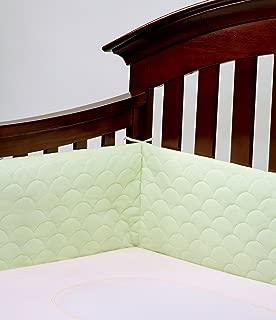 Lifenest Breathable & Padded Mesh Crib Liner - Green