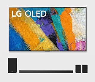 """LG OLED65GXP 65"""" OLED Gallery Design Smart 4K Ultra High Definition Smart TV with a LG SN11RG 7.1.4 Ch Sound Bar with Surround Sound Speakers and Subwoofer (2020)"""