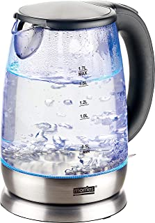 Morries MS 2020GK Electric Glass Kettle, 1.7L