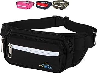 Pro Helios Premium Fanny Packs for Men & Women Water Resistant Waist Bag for Outdoor Activities
