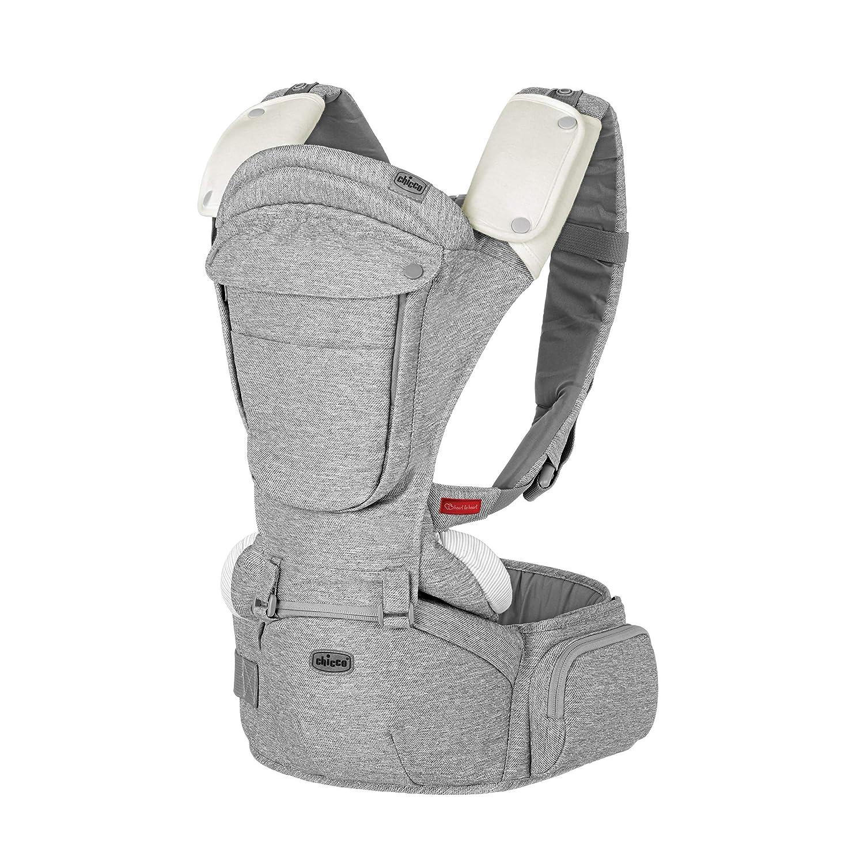 Chicco Sidekick Plus 3 in 1 Hip Seat Carrier, Titanium