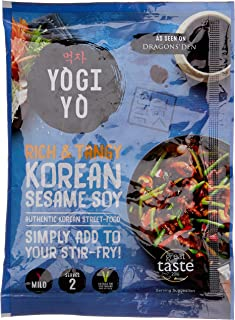 Yogiyo Mild Korean Sesame Soy Stir-Fry Sauce, 100 g
