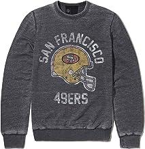 Recovered NFL San Francisco 49ers Sweatshirt mit Helmdruck, Anthrazit