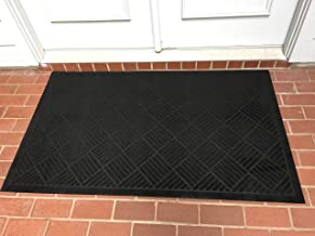Heavy Duty Front Door Mat Large Outdoor Indoor Entrance Doormat Waterproof Low Profile Entrance Rug Patio Grass Snow Scrap...