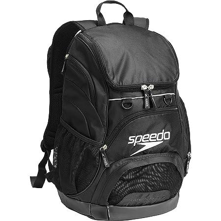 Speedo Large Teamster Backpack 35-Liter, Black, One Size