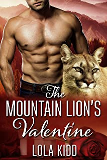 The Mountain Lion's Valentine: BBW Shifter Mail Order Bride Romance (Holiday Mail Order Mates Book 1)