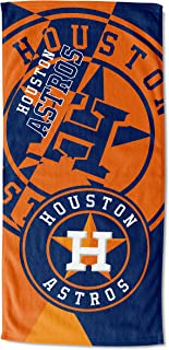 Officially Licensed MLB Puzzle Oversized Absorbent Beach Towel, Towels, 34