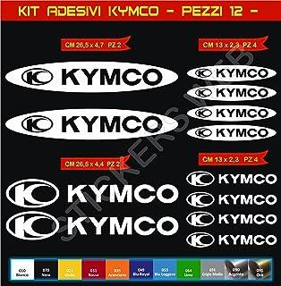 Suchergebnis Auf Für Kymco Aufkleber Magnete Zubehör Auto Motorrad