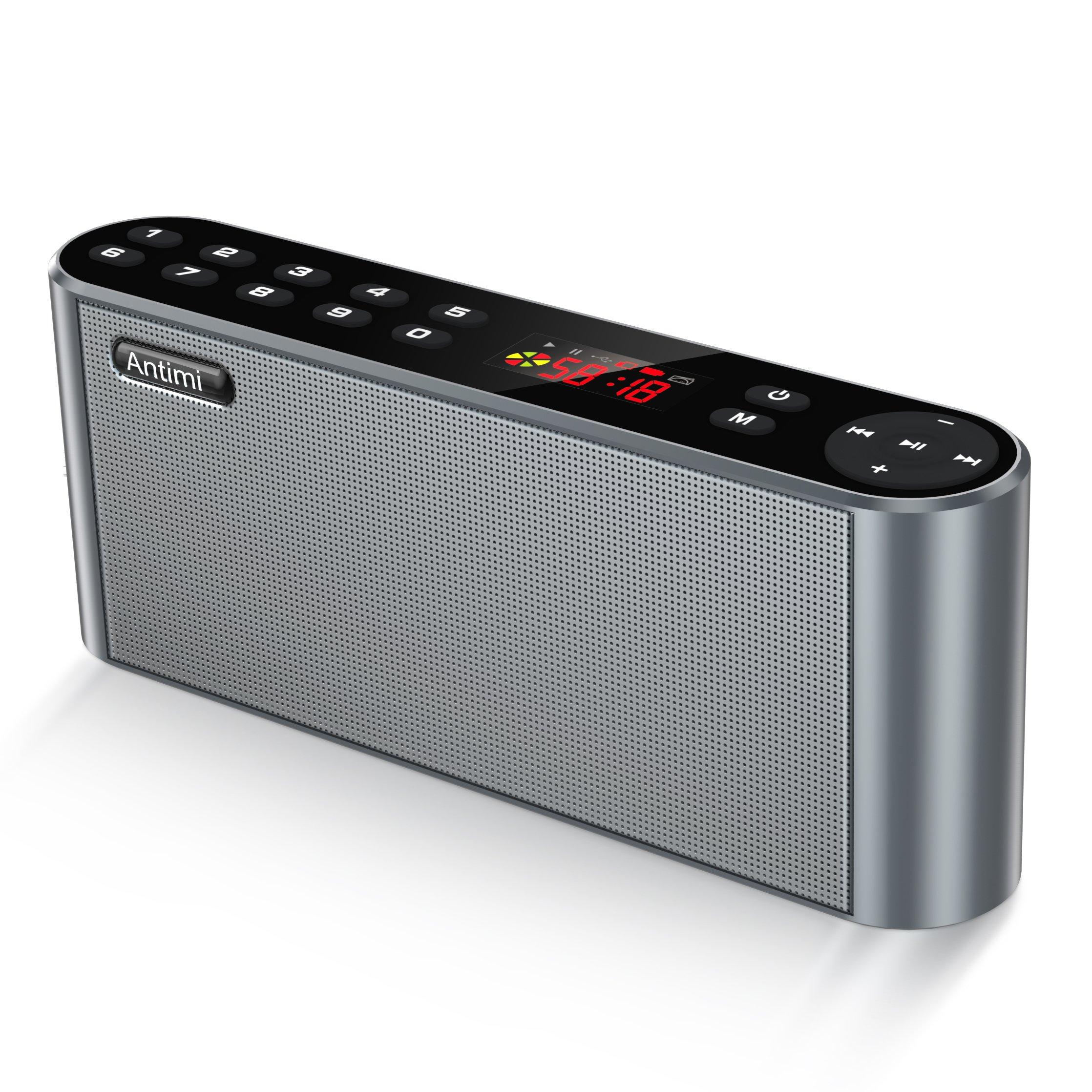 do portable speakers have radio
