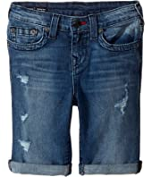 True Religion Kids - Geno Single End Shorts in Used Wash (Toddler/Little Kids)