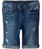 True Religion Kids - Geno Single End Shorts in Used Wash (Toddler/Little Kids)