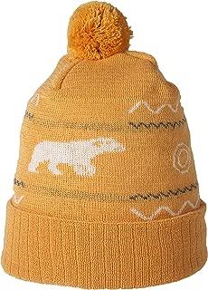SUPERYELLOW Beanie in Wool, Orange, One Size