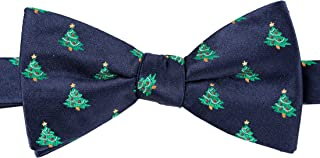 KissTies Mens Pre-Tied Christmas Bow Tie Xmas Bowtie + Gift Box
