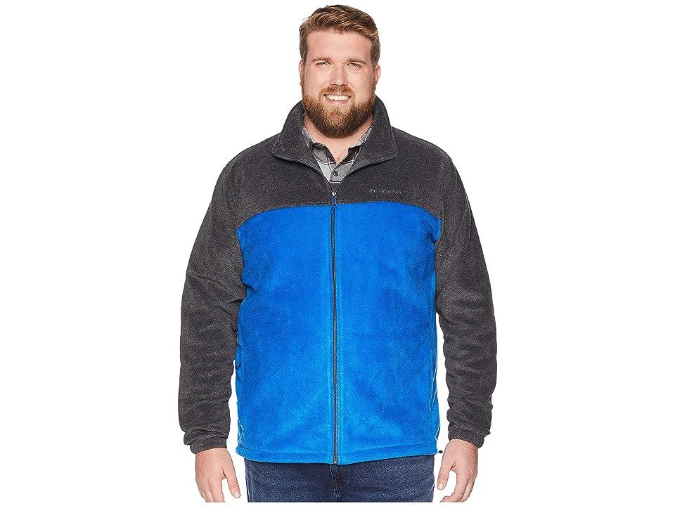 Columbia Big Tall Steens Mountaintm Full Zip 2.0 Jacket (Azul/Charcoal Heather) Men