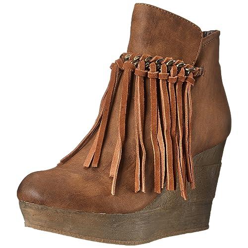 1ff42505b Tan Fringe Boots  Amazon.com