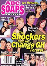 Jensen Buchanan, A Martinez & Jacklyn Zeman (General Hospital) l Annual Mother's Day Issue - May 15, 2001 ABC Soaps In Depth [SOAP OPERA]
