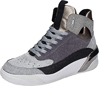 Crime London Trainers Womens Silver