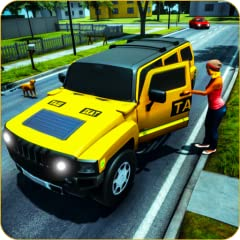 Animated VIP Passengers Enhanced 3D Environment Smooth And Easy Land Cruiser Controls Precise Cruiser Taxi Parking And Taxi Driving Simulator Engaging Modern Taxi drive 3d game Challenge Like Intelligent Traffic System GPS Map To Guide The Taxi Duty ...