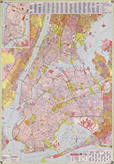 new york street map poster