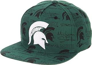 Zephyr Men's Manic Snapback Hat, Forest Green, Adjustable