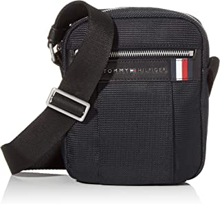 Tommy Hilfiger Elevated Nylon Mini Rep, Bolsillo de Reportero para Ilaves y Billetera para Hombre, 1x1x1 centimeters (W x ...