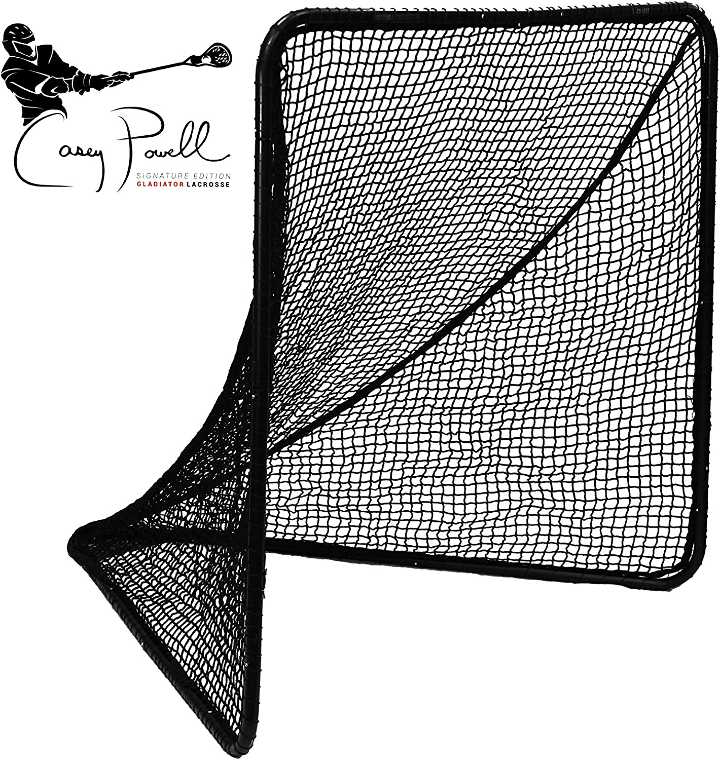 Gladiator Lacrosse Gladiator Official Lacrosse Goal Net - Casey Powell Signature Edition, 852624005059 : Sports & Outdoors
