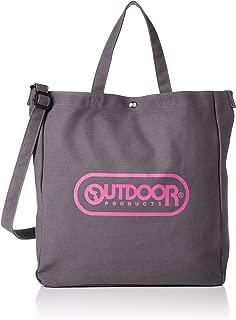 [OUTDOOR PRODUCTS]手提包 帆布 印有品牌标志 2WAY