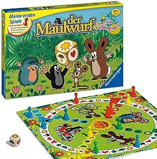 Ravensburger Ravensburger 21570 - Der Maulwurf und sein Lieblingsspiel - Spiel für Erwachsene und Kinder ab 3 Jahren, für 2-4 Spieler