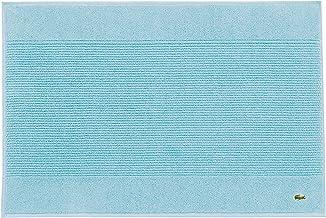 """Lacoste Legend 100% Supima Cotton Towel, 650 GSM, 21""""W x 31""""L Bath Mat, Celestial Blue"""