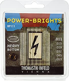 Thomastik-Infeld RP111 Power-Brights Heavy Bottom Medium Top Electric Guitar String Set