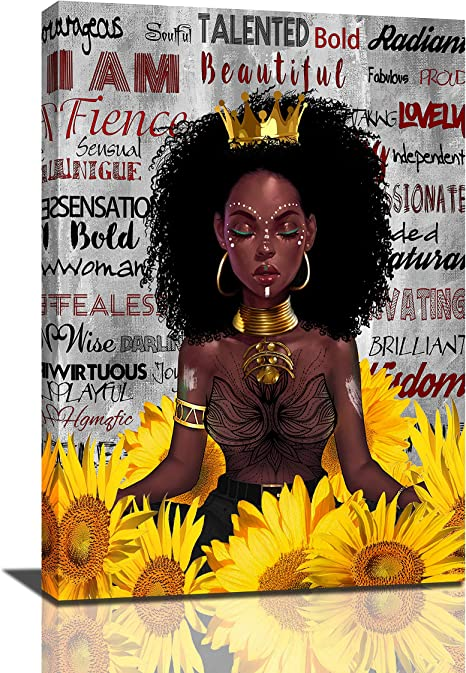 Girl afro black Black Queen