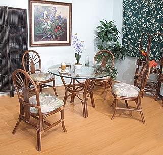 Premium Rattan Dining Furniture 5 Piece Set (#2401AW-IS)