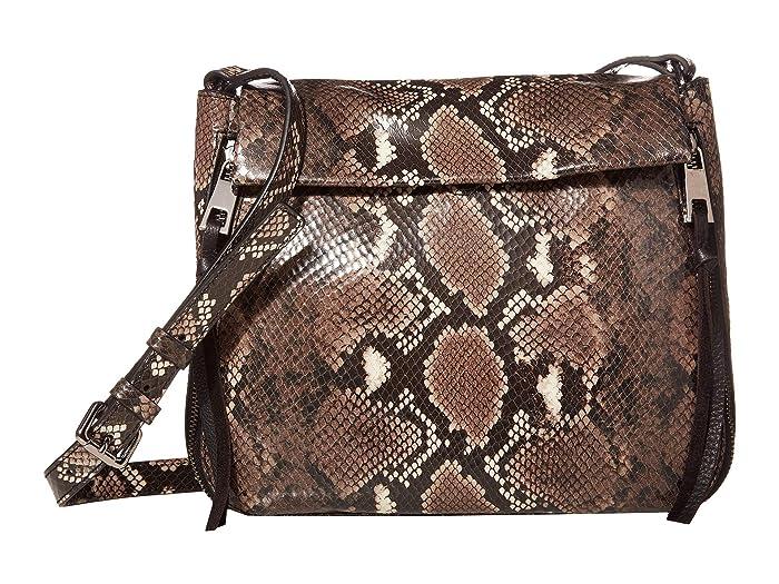Vince Camuto  Zani Large Crossbody (Taupe Python) Handbags