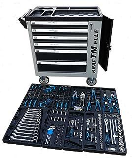 Carro de herramientas de taller profesional con puerta