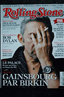 ROLLING STONE 004 T 01024 Cover Gainsbourg Birkin Dylan Mick Jagger William Sheller Nirvana The Cure