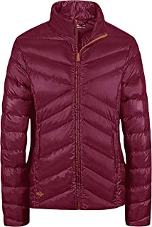 Wantdo Women's Sports Down Wear Stand Collar Lightweight Packable Short Down Jacket