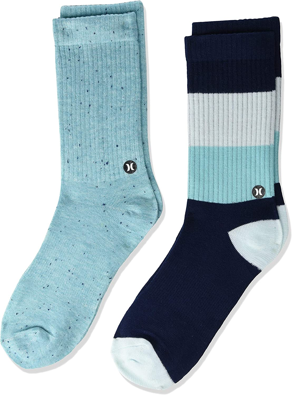 Hurley boys 2-pack Active Everyday Knit Crew Socks