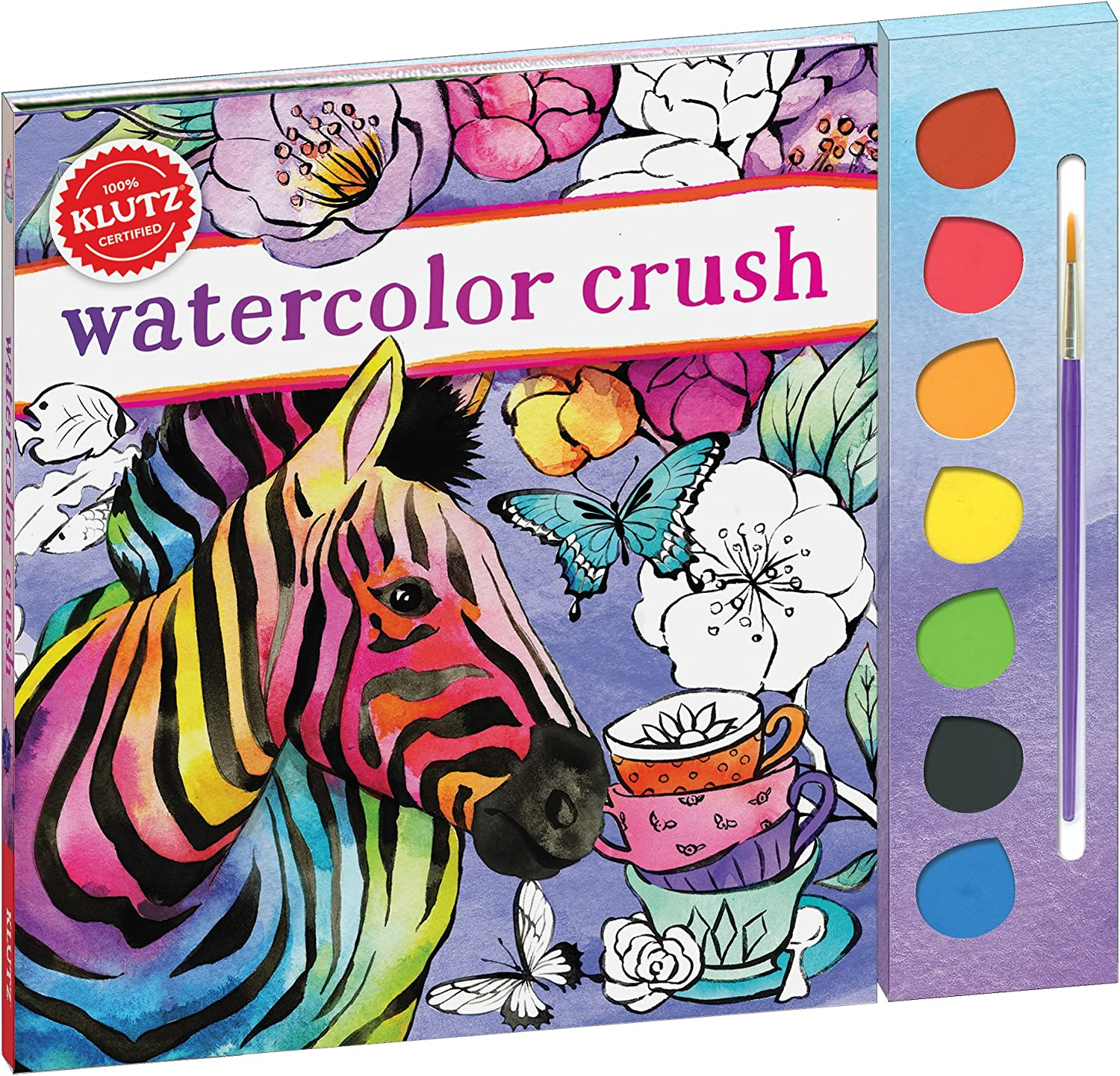 sold out KLUTZ Watercolor Crush Great interest Toy