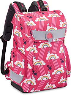 Paris – Back TO School 2020 – Mochila ergonómica + S 14 Pulgadas, Color Rosa