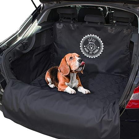 Hund Ist KÖnig Kofferraumschutz Universal Inkl Ebook Rutschfeste Auto Kofferraum Schutzmatte Wasserabweisende Kofferraumdecke Für Hunde Hundedecke Mit Ladekantenschutz Haustier